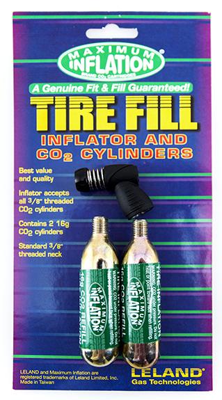 tire filling kit nozzle  cartridges