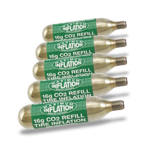 16g CO2 Cartridges / Threaded / 6 pack
