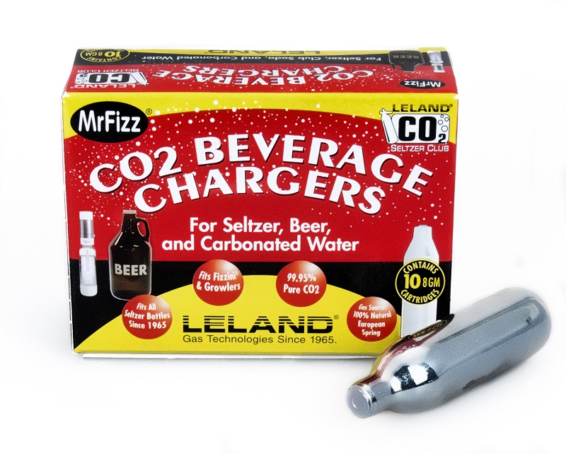 Leland Seltzer Chargers 8g CO2 10 Pack