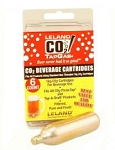 TapGas brand 16 gram CO2 cylinders 6 pack.