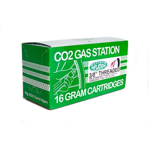 50pc. Counter Pack / CO2 Cartridges / 16g