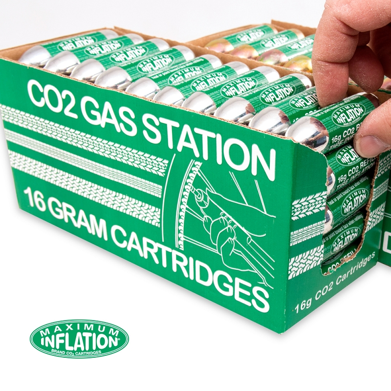 16g of CO2 - 50 Dispenser Box