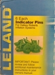 V85000 Series: Green Indicator Pins, 840AMU, V85000 inflators (6pk)
