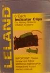 Indicator Clips, Green, for V90000 inflators, (6pk)